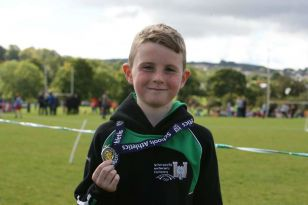 Oisin Wins Silver in Finn Valley Cross Country Schools Event