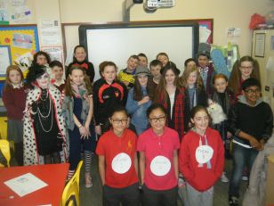 Pupils celebrate World Book Day March 2016